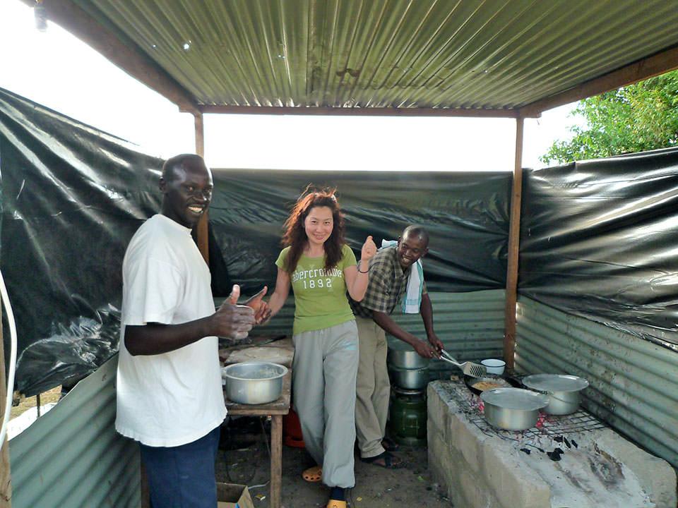キャンプ経験なくても、マサイマラでのキャンプは快適、最高!