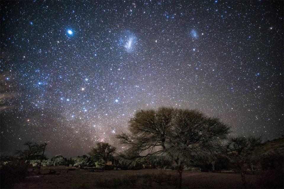 「星空保護区」のゴールドティアに認定された星空を堪能。