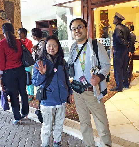 ハネムーン・レポート『ケニアとザンジバル 10日間』