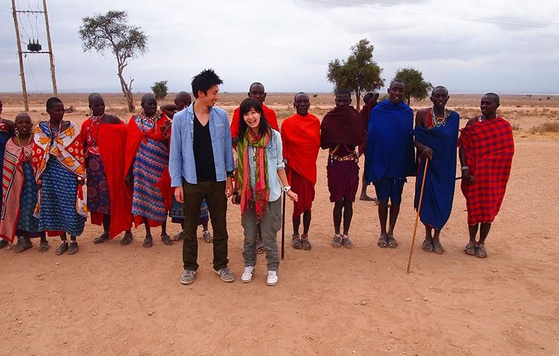 ハネムーン・レポート『ケニアとザンジバルとティンガティンガ体験13日間』