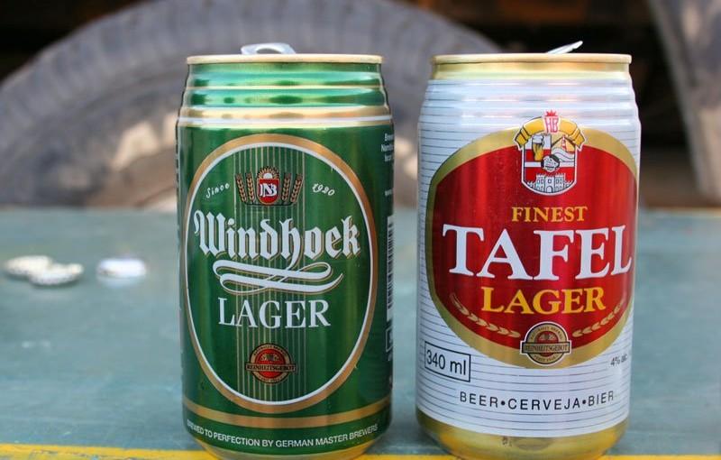 砂漠で飲むビールは極上!南部アフリカ、ナミビアビール