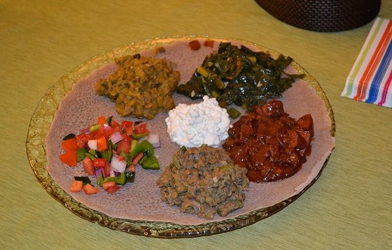 エチオピアの主食 「インジェラ」