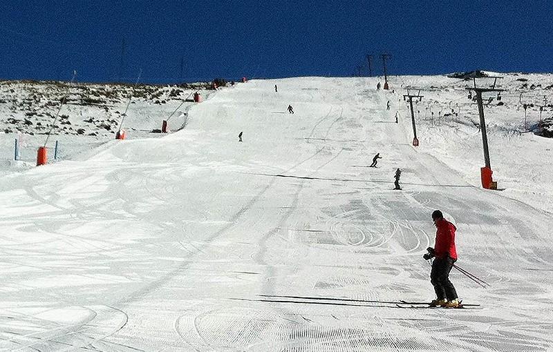 アフリカにあるスキー場