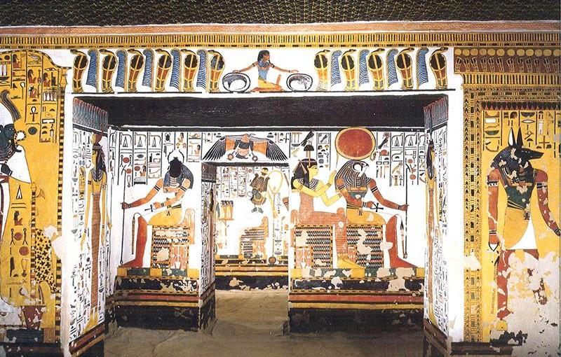エジプトのファラオ、ラムセス2世の妃ネフェルタリ
