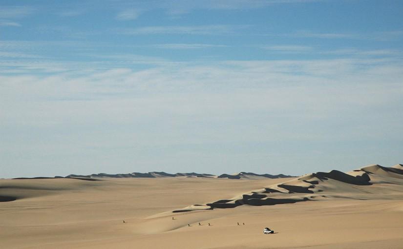 砂漠が美しいグレートサンドシー