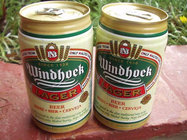 100%純粋なナミビア産ビール