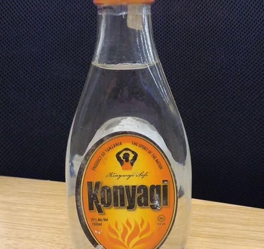 タンザニアのお酒「コニャギ」