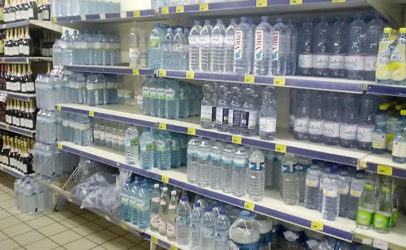 コートジボワールのおいしい水「SACHET D'EAU」