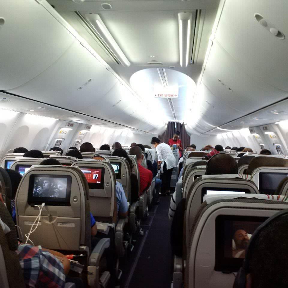 ケニア航空   アフリカ旅行の道...