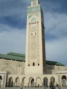 モロッコ最大、世界で5番目に大きいハッサン2世モスク