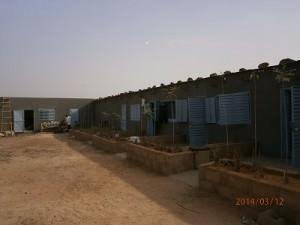 ニャガドゥ村の宿泊所