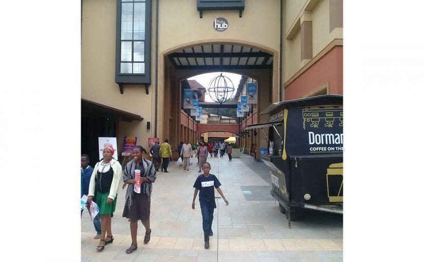 ケニア・ナイロビはショッピングモールの建設ラッシュ