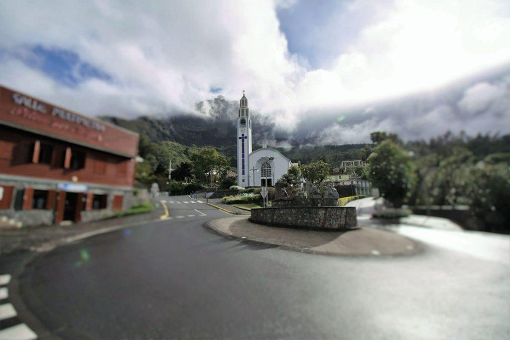 入植時代から建つ歴史ある教会