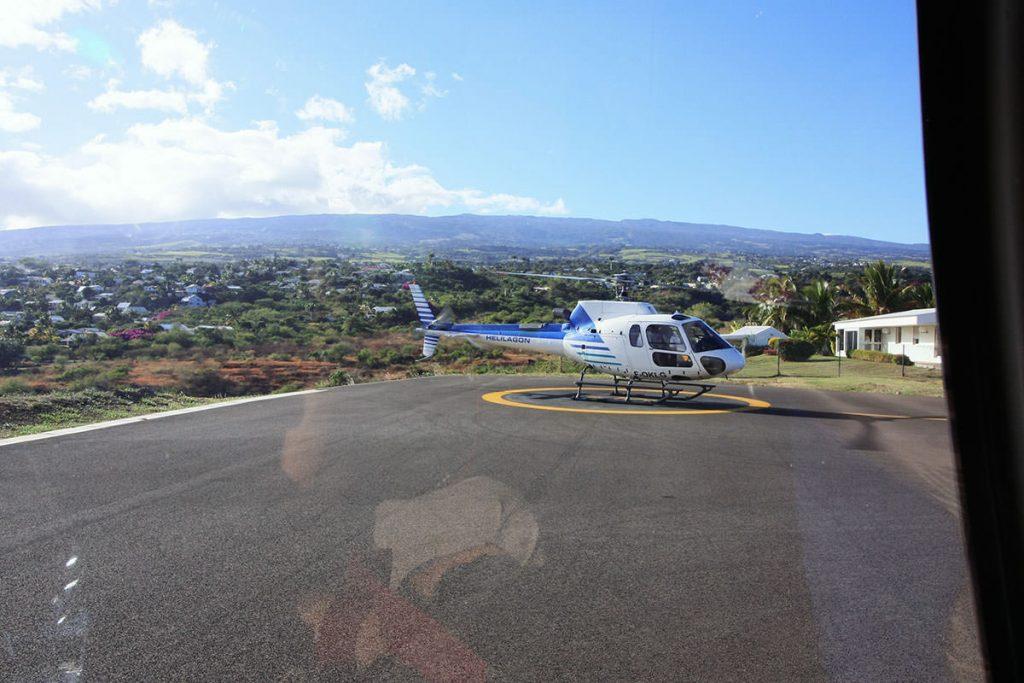 安定感のあるヘリコプターフライト