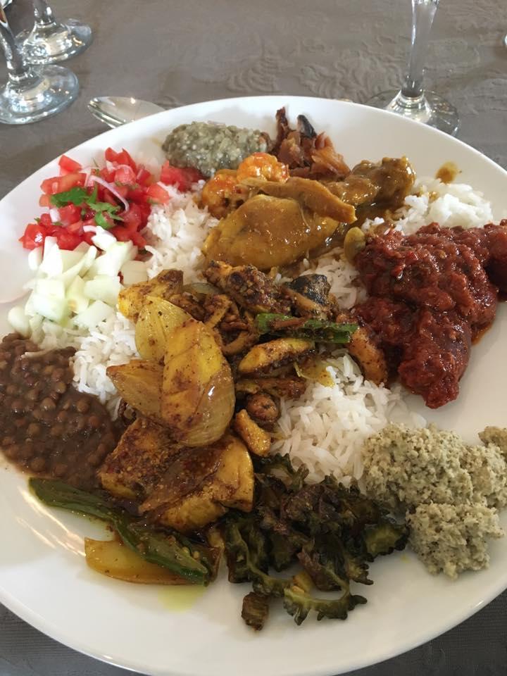 インド色の濃い、モーリシャス・クレオール料理