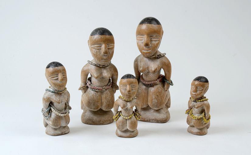 African Art 25 トーゴ エウェの人形