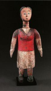 トーゴ エウェ族のコロン人形 H68cm