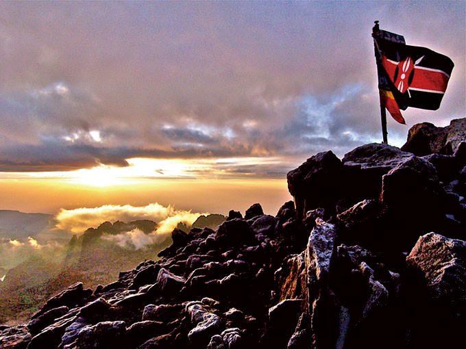 アフリカの山に登ろう! recommend 1 ケニア山
