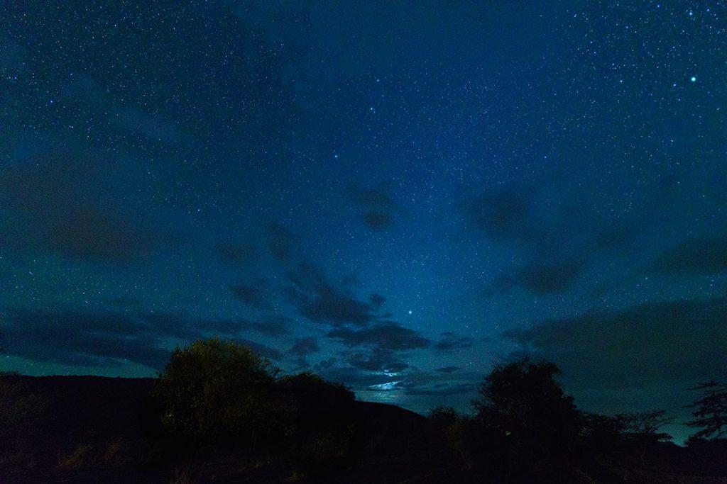 オルケリ・マラ・サファリ・キャンプで見た星空