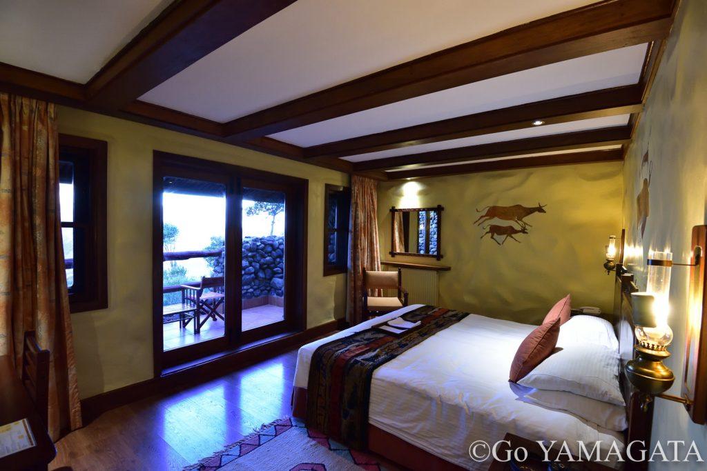 ンゴロンゴロ・セレナロッジの部屋
