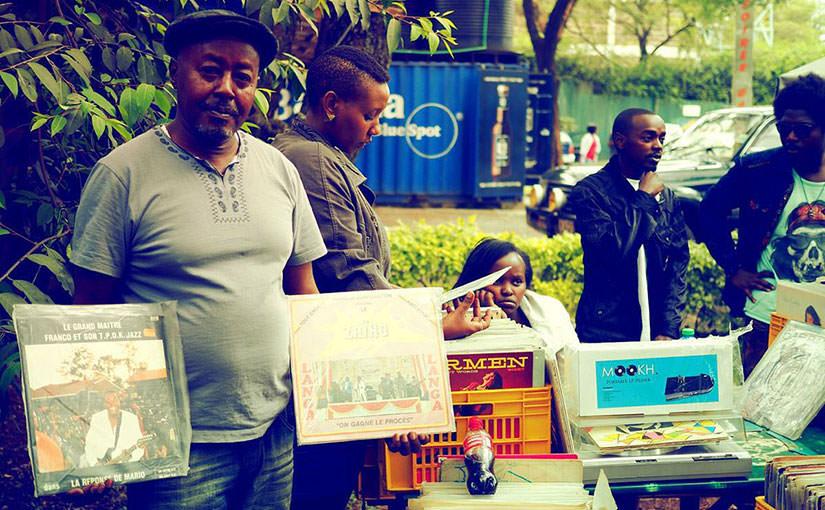 アフリカのレコード盤