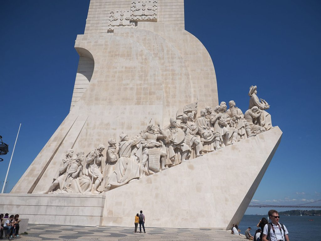 大航海時代を記念した記念碑『発見のモニュメント』この時代がなければ、カーボ・ヴェルデはなかったかもしれません。