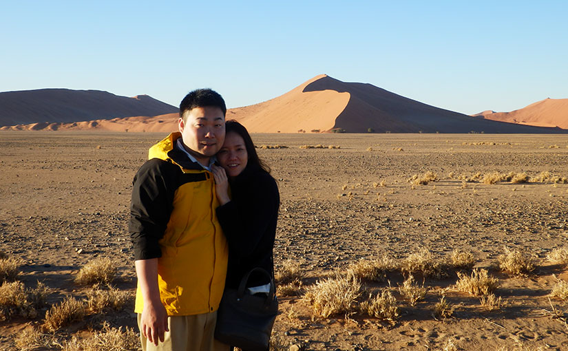 ハネムーン・レポート『ナミブ砂漠&南アフリカサファリ・ハネムーン手配旅行』
