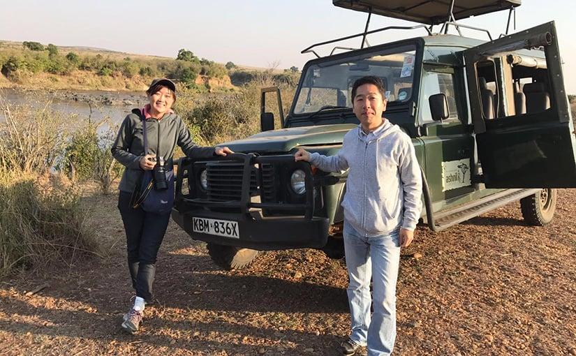 ハネムーン・レポート『ケニア・マサイマラとザンジバル島 手配旅行』