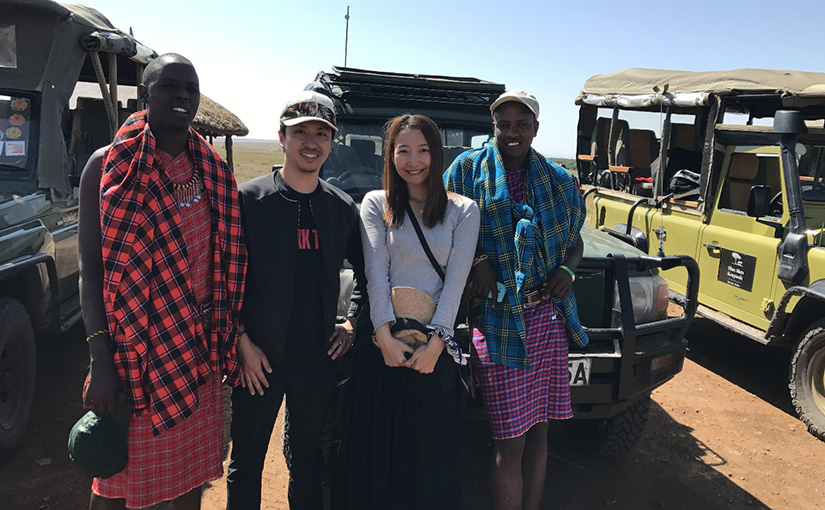 ハネムーンレポート『ケニア・3大公園のサファリ 10日間』