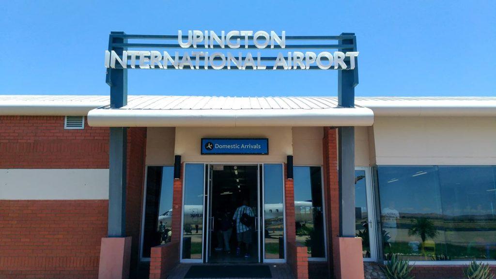 カラハリトランスフロンティアの玄関口、アピントン空港