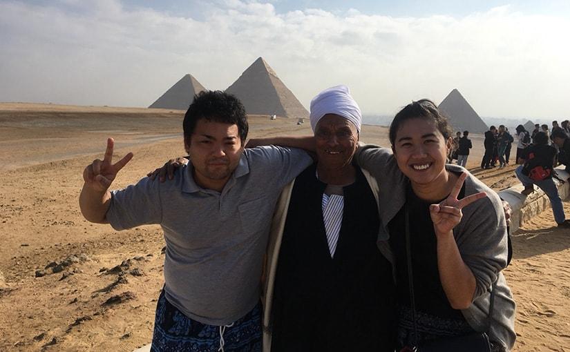 ハネムーン・レポート『エジプト&ケニア 9日間』