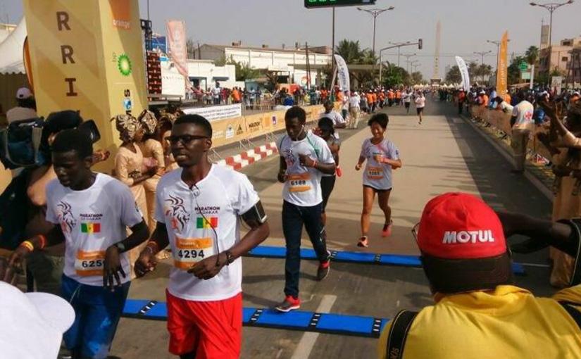 セネガル ダカールマラソン