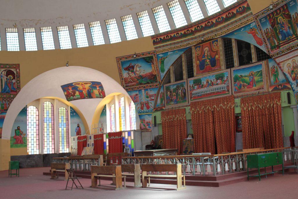 皇帝ハイレセラシエが建造した新聖マリア教会
