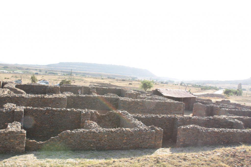 シヴァの女王の宮殿跡。当時は3階建ての建物だったとされている