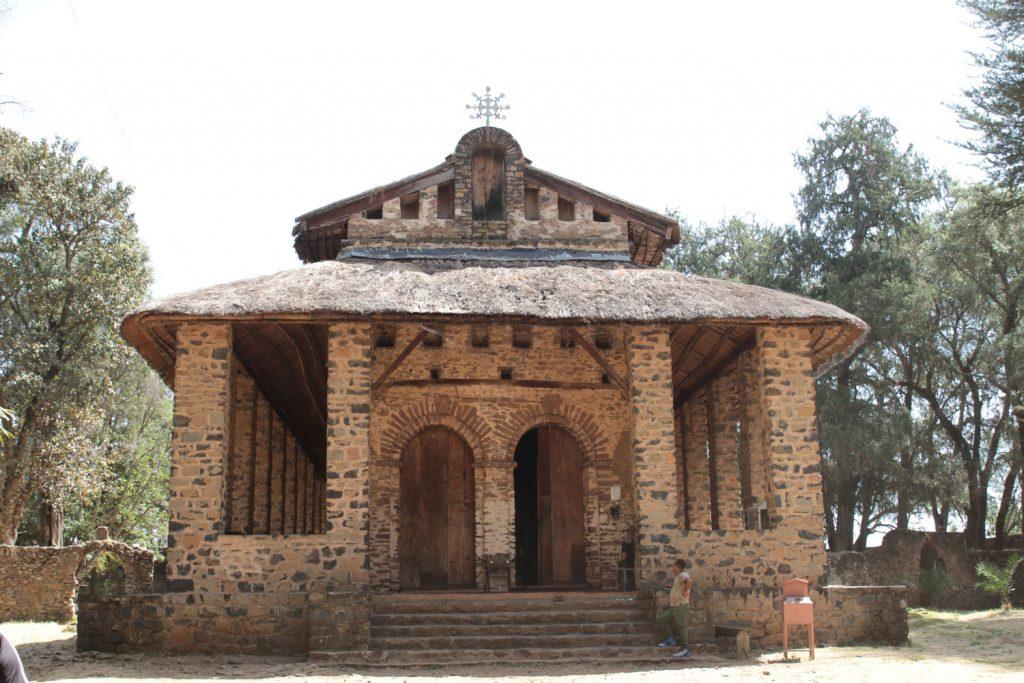 皇帝イヤス1世が建立したデブレ・ブレハン・セラシエ教会