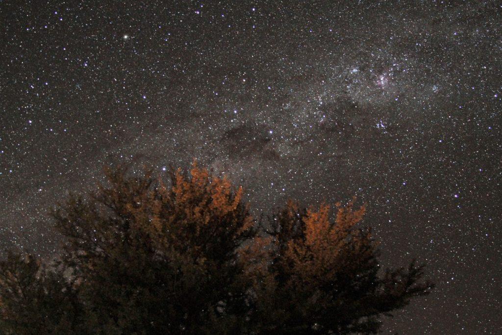 毎晩星が降る様な夜空の下で静かで贅沢な時間を過ごしました1