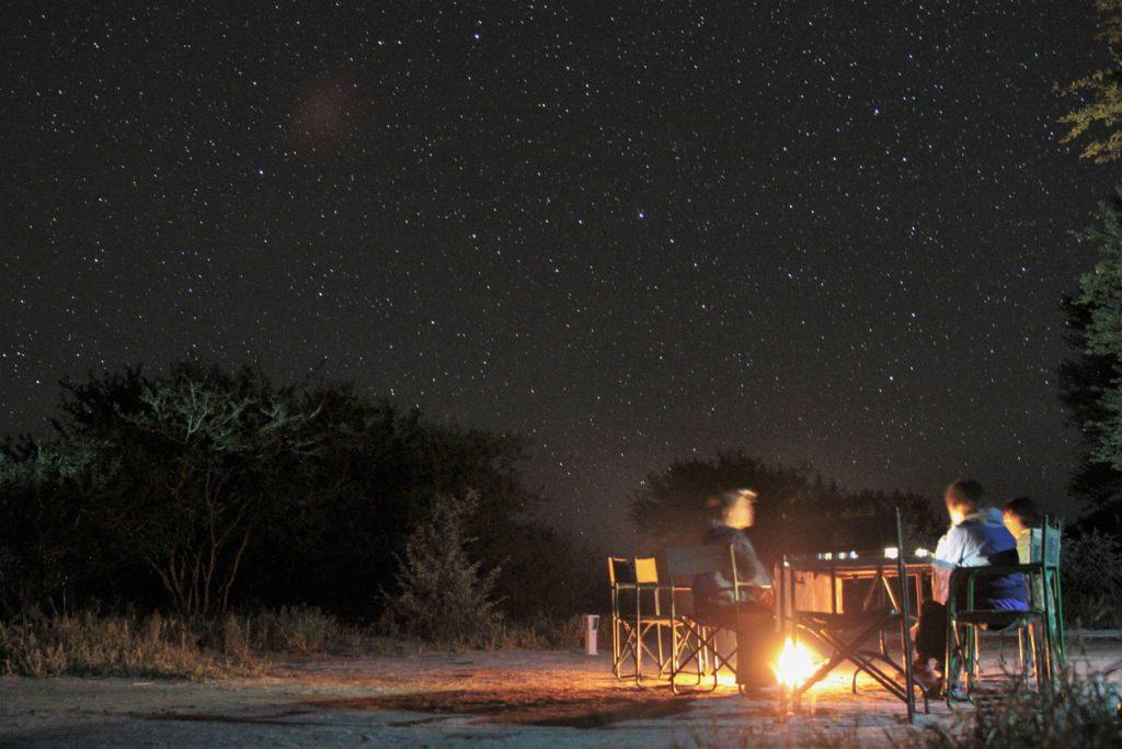 毎晩星が降る様な夜空の下で静かで贅沢な時間を過ごしました2