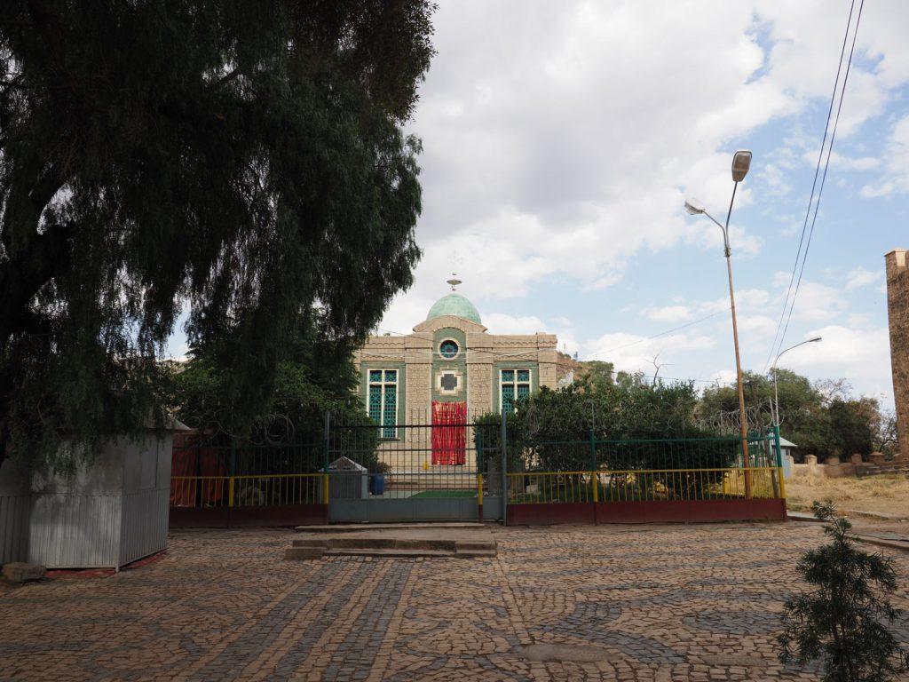 「失われたアーク」が安置されているといわれる、シオンの聖マリア教会の礼拝堂