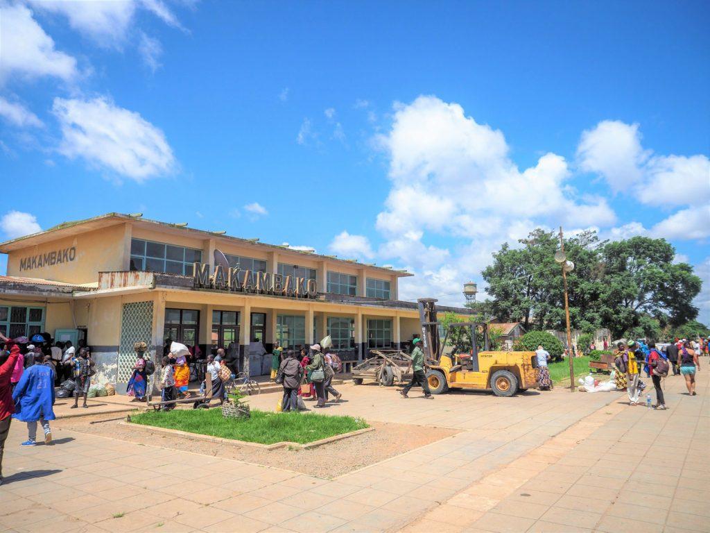 朝になってタンザニア南部の中都市マカンバコに到着しました。