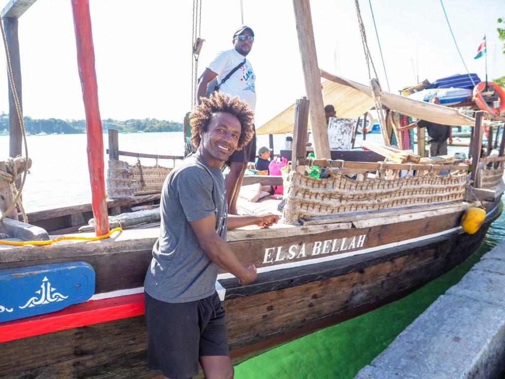 今回の相棒は「ELSA BELLAH(イザベラ)号」。伝統的なラム・スタイルの建造にこだわった一艘です。